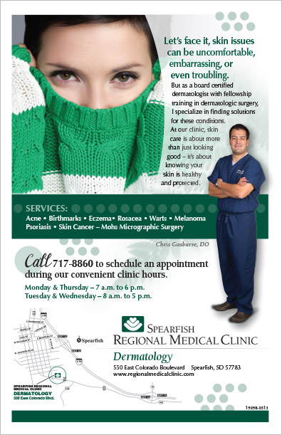 Regional Medical Clinic Advertisement Spearfish, SD