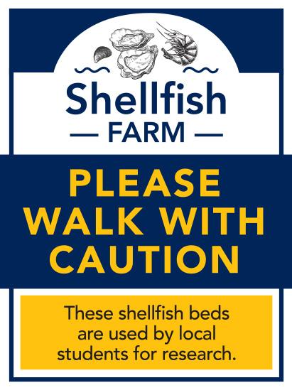 Shellfish Signage