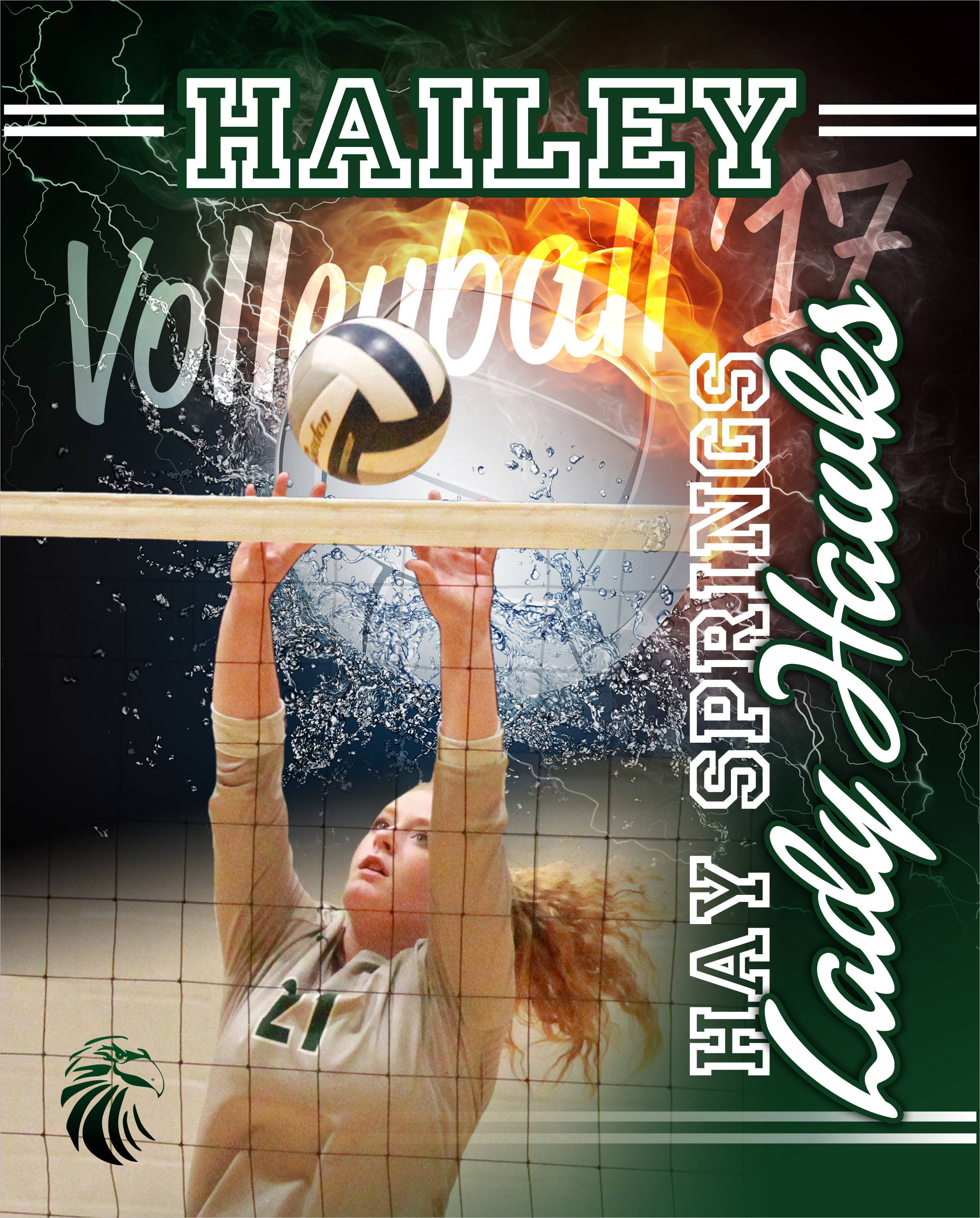 Hay Springs High School Volleyball Puzzle Hay Springs, NE
