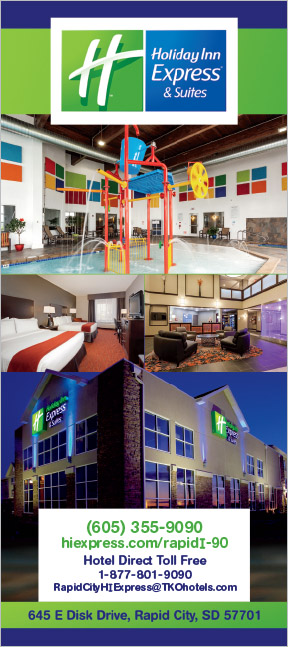 Markus Erk/ProPrint Holiday Inn Rack Card Rapid City, SD