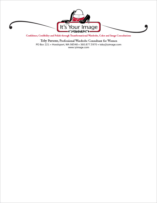 It's Your Image Letterhead Hoodsport, WA