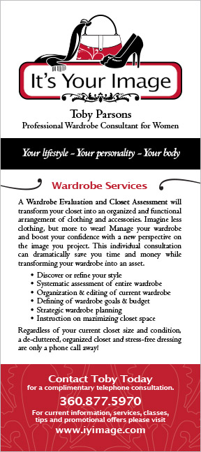 It's Your Image Rack Card Hoodsport, WA
