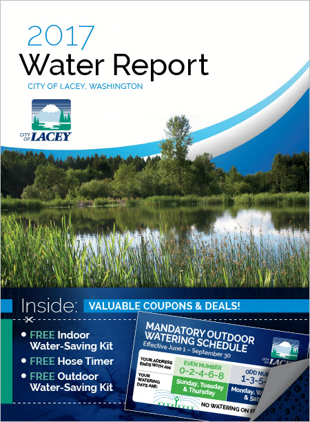 City of Lacey Water Resources Water Report Lacey, WA