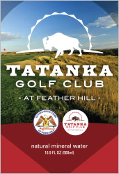 Nebraska Water Properties Tatanka Golf Club Label Gordon, NE