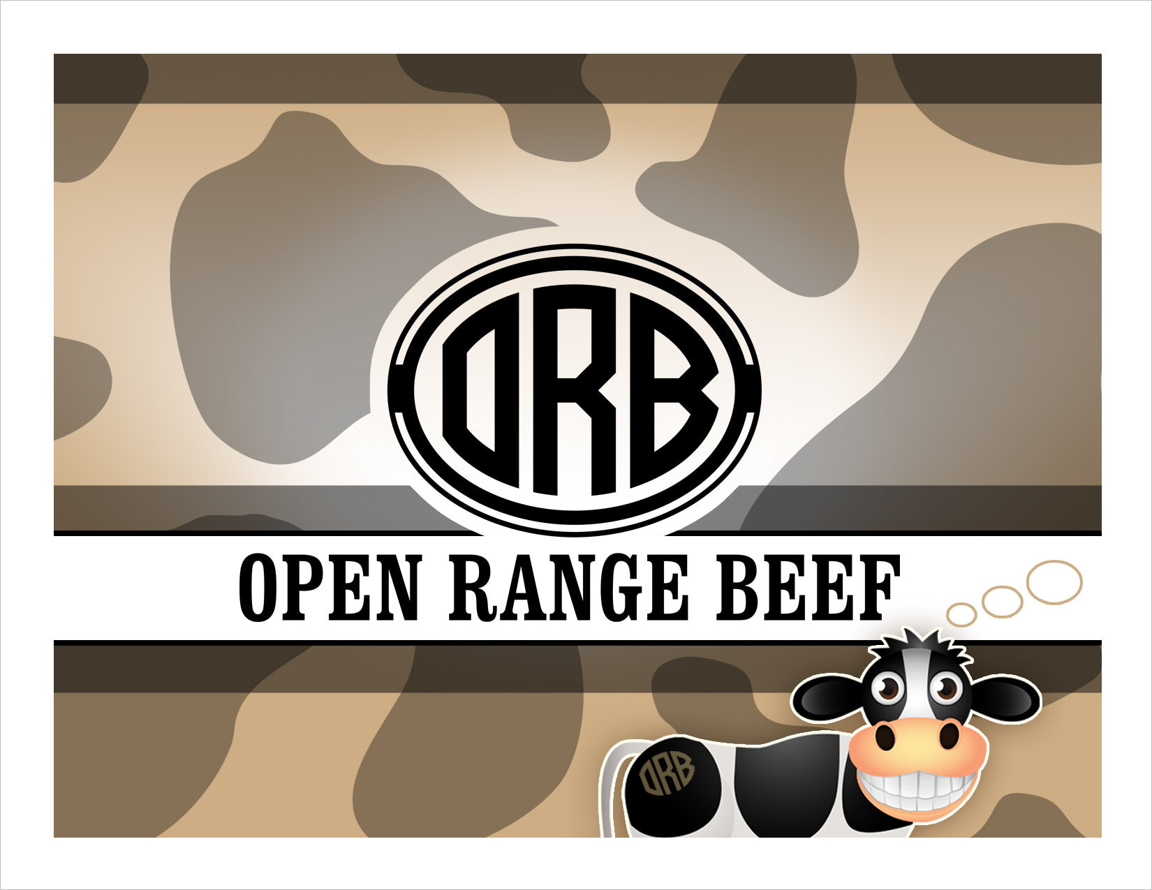 Open Range Beef Notecard Gordon, NE