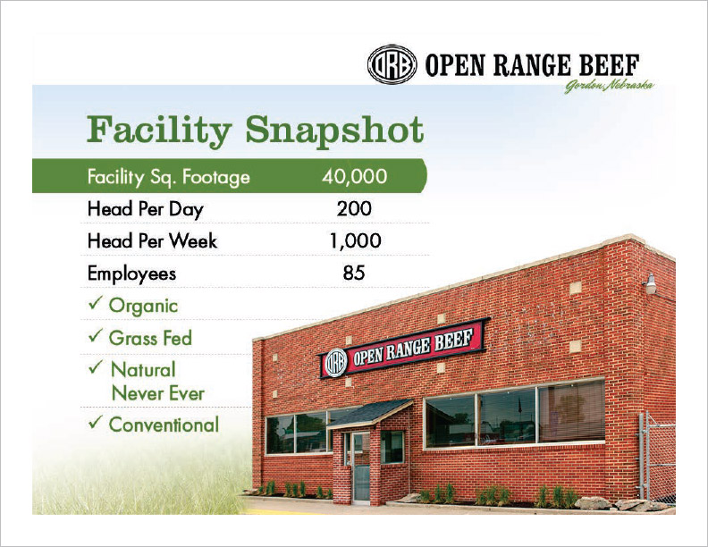 Open Range Beef PowerPoint Slide Gordon, NE