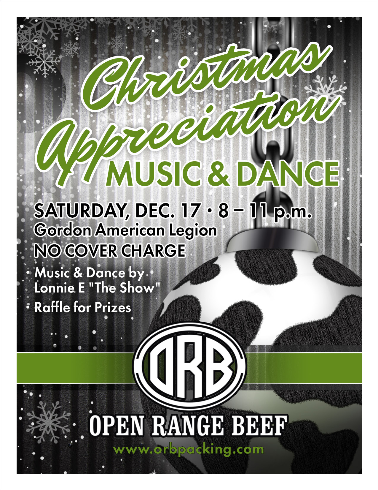 Open Range Beef Invitation Gordon, NE