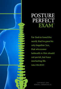 Posture Perfect Exam Splash Screen