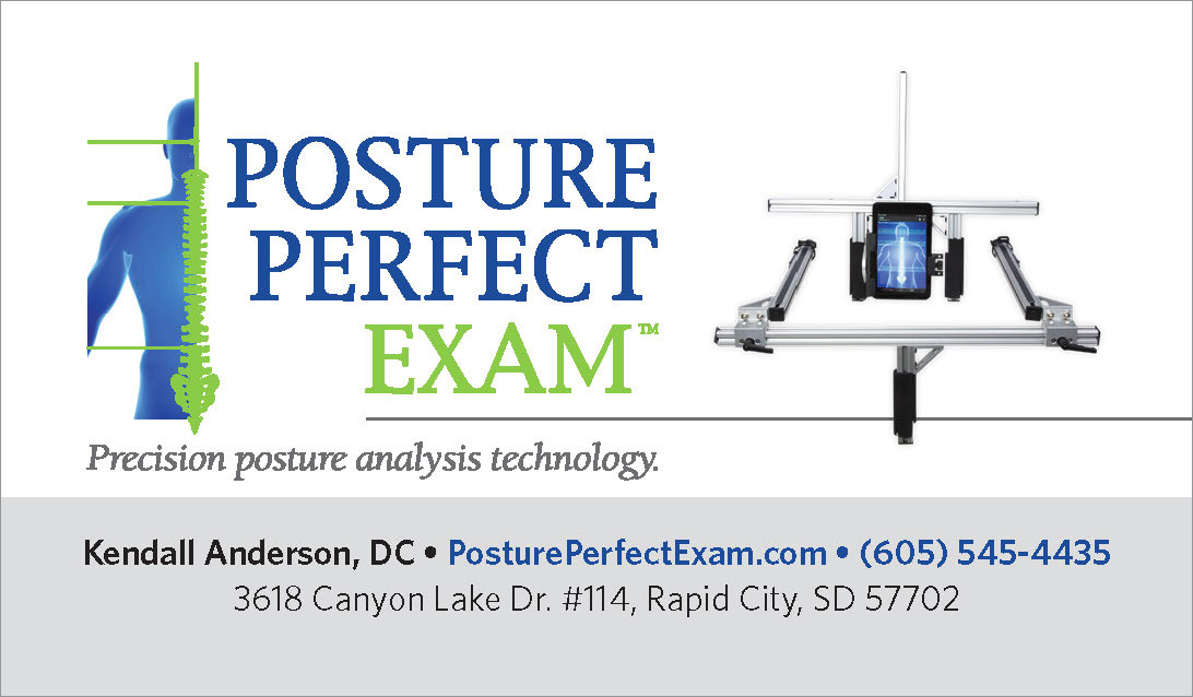 Posture Perfect Exam Business Card