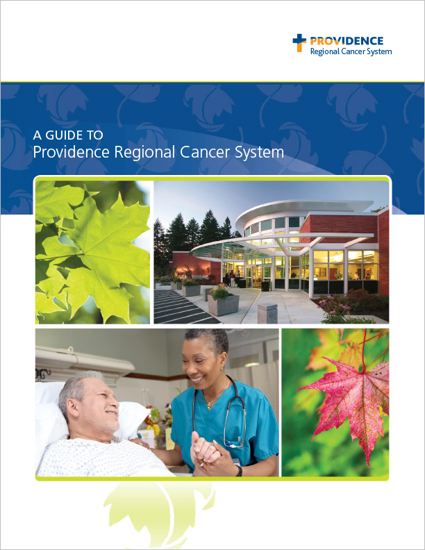 Providence Regional Cancer System Booklet Washington