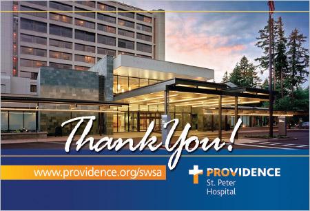 Providence St Peter Hospital Postcard Olympia, WA