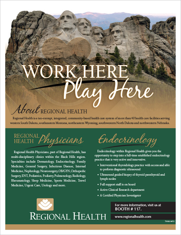 Regional Health Physicians Flyer Rapid City, SD