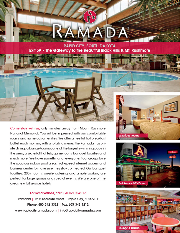 Markus Erk/ProPrint Ramada Flyer Rapid City, SD