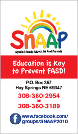 SNAPP Business Card Hay Springs, NE