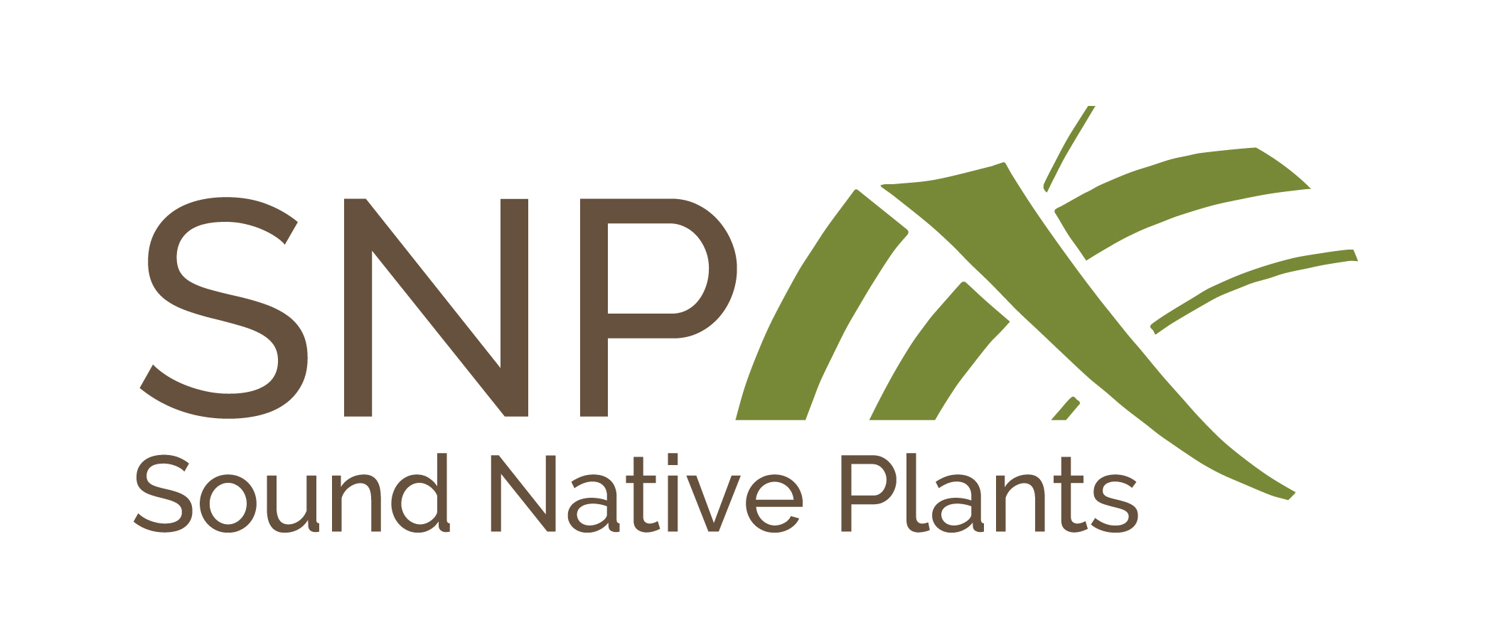 Sound Native Plants Logo Olympia, WA