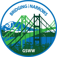 Girl Scouts of Western Washington Tacoma Bridging Patch