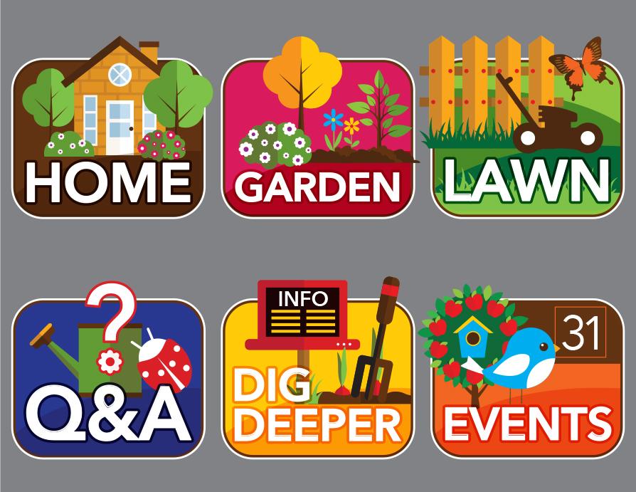 Thurston County Home & Garden Icons