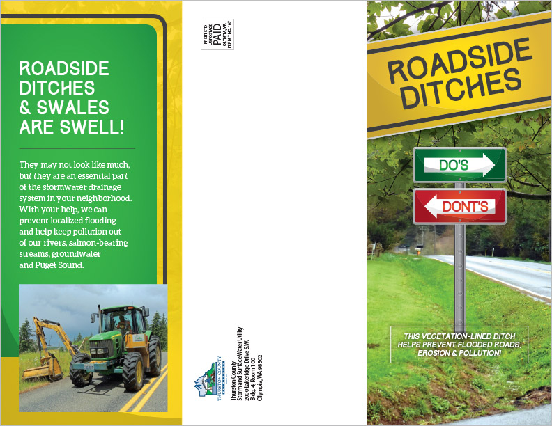 Thurston County Stormwater Utility Brochure Olympia, WA