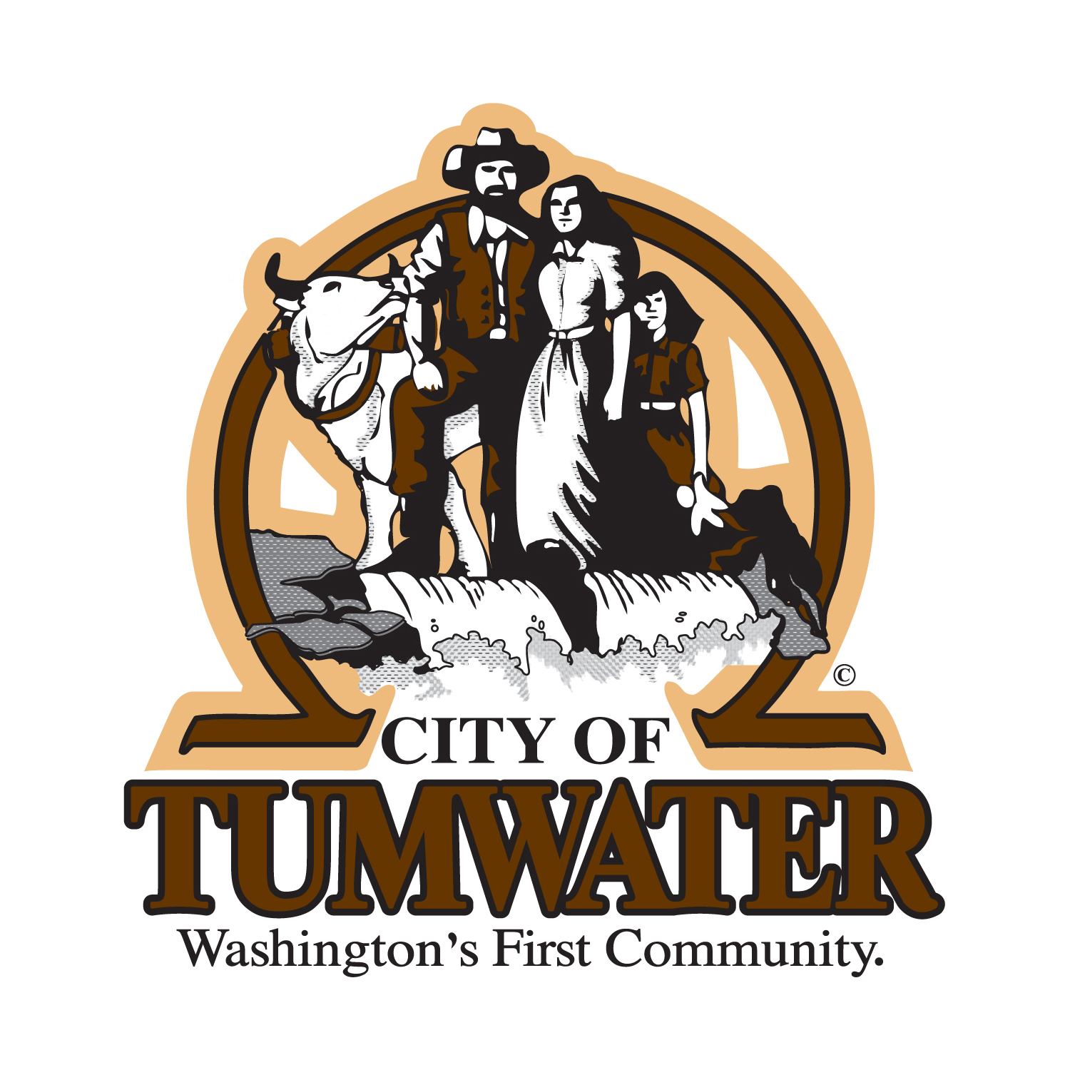 City of Tumwater Logo Redraw Tumwater, WA