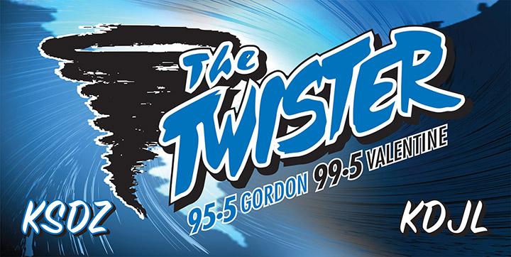 The Twister Banner Gordon, NE