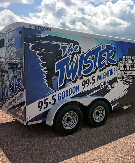 The Twister Trailer Wrap Gordon, NE