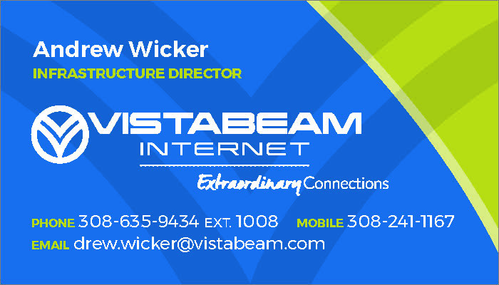 Vistabeam Internet Business Card