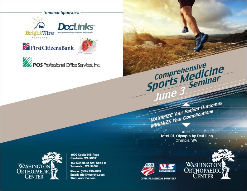 Washington Orthopedic Center Seminar Handout Centralia, WA