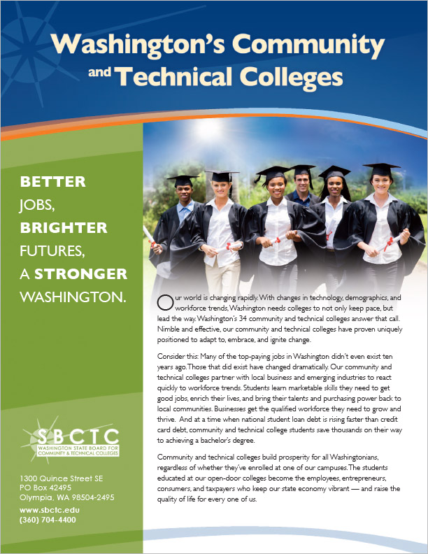 Washington State Board for Community & Technical Colleges Newsletter Olympia, WA