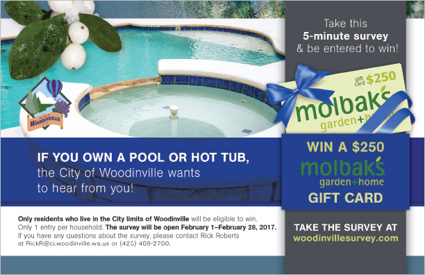 Goldstreet Design Agency City of Woodinville Postcard Bend, OR