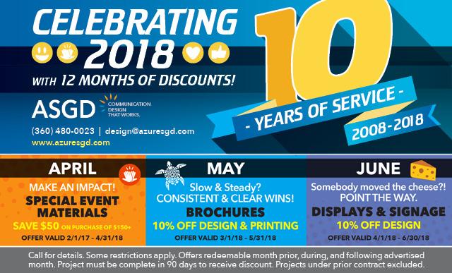 ASGD Discounts Apr–June 2018